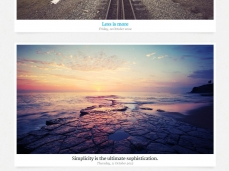 Photopia WordPress Template