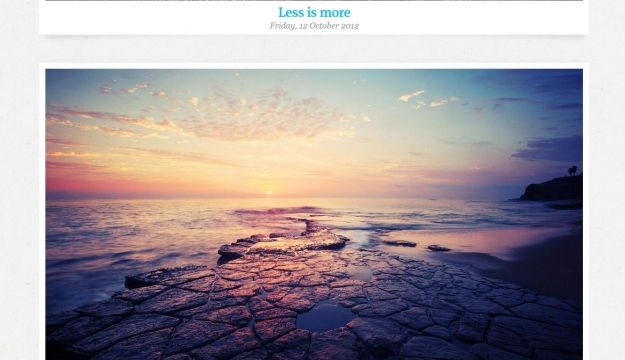 Photopia WordPress Template