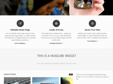 Vantage WordPress Template