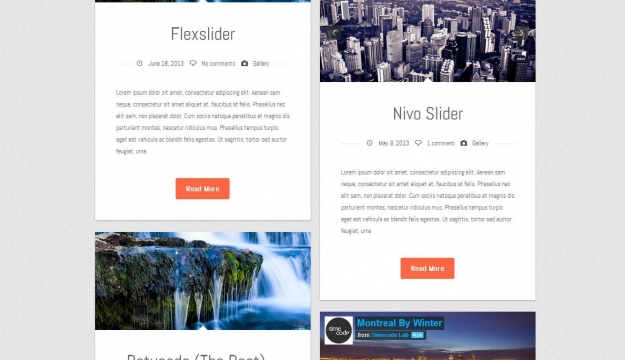 Suera WordPress template